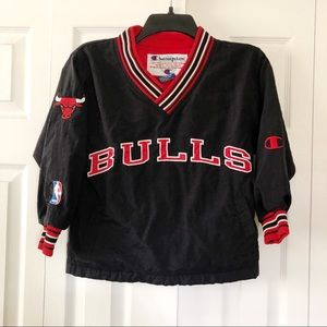 Chicago Bulls Pullover Jacket Kids Size S